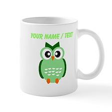 Custom Green Owl Mugs