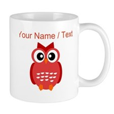 Custom Red Owl Mugs