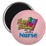 Cute Nurse birthday Magnet