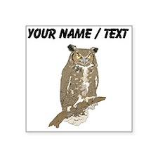 Custom Eurasian Eagle-Owl Sticker