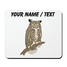 Custom Eurasian Eagle-Owl Mousepad
