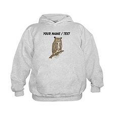 Custom Eurasian Eagle-Owl Hoodie