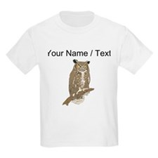 Custom Eurasian Eagle-Owl T-Shirt