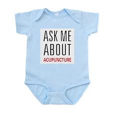 Ask Me Acupuncture Infant Bodysuit