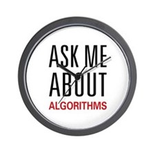 Ask Me Algorithms Wall Clock