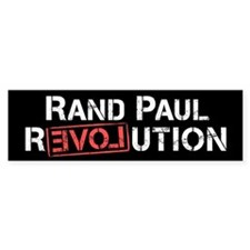 Rand Paul Revolution Bumper Bumper Sticker