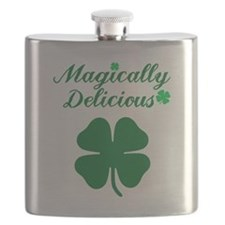 Magically Delicious Shamrock Flask