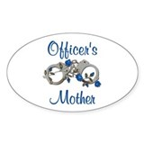 Officer's Mother Oval Decal