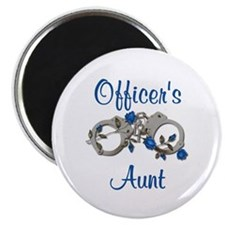 Officer's Aunt Magnet