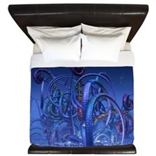 Alien Life King Duvet
