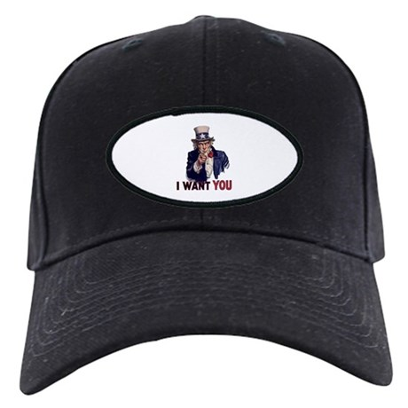 Uncle Sam Black Cap