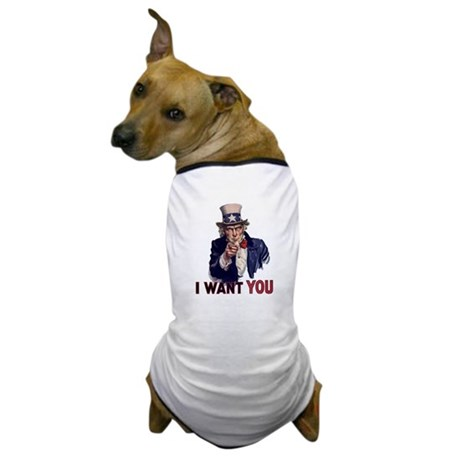 Uncle Sam t-shirt Dog T-Shirt