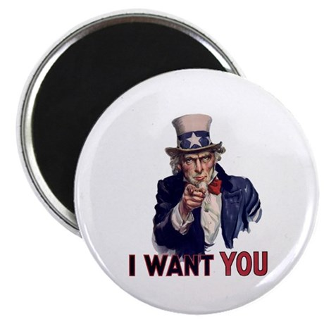 Uncle Sam Magnet