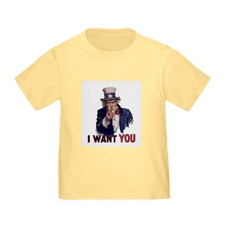 Uncle Sam t-shirt Toddler T-Shirt