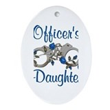 Officer's Daughter Oval Ornament