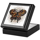 November Birthstone Butterfly Keepsake Box