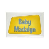 Baby Madalyn Rectangle Magnet (100 pack)