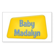 Baby Madalyn Rectangle Decal