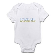 Love All Infant Bodysuit