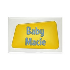 Baby Macie Rectangle Magnet