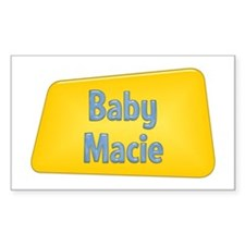 Baby Macie Rectangle Decal