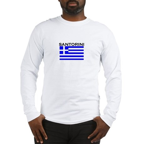 Santorini, Greece Long Sleeve T-Shirt