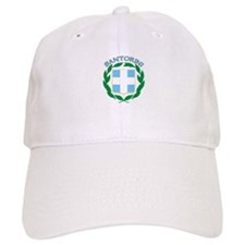 Santorini, Greece Baseball Cap
