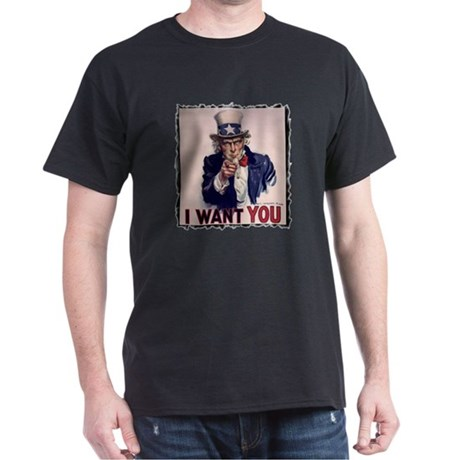 Uncle Sam t-shirt Dark T-Shirt