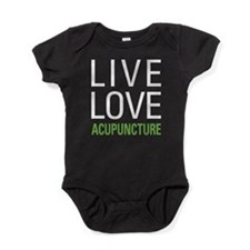 Live Love Acupuncture Baby Bodysuit