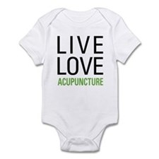 Live Love Acupuncture Infant Bodysuit