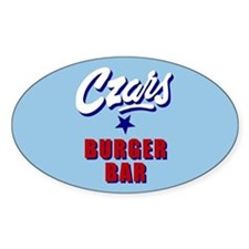 Czars Oval Decal