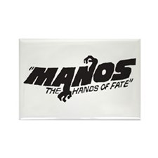 Manos Rectangle Magnet