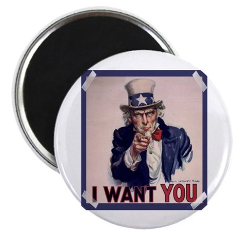 Uncle Sam Poster Magnet