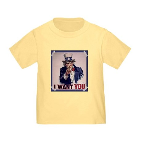 Uncle Sam Poster Toddler T-Shirt