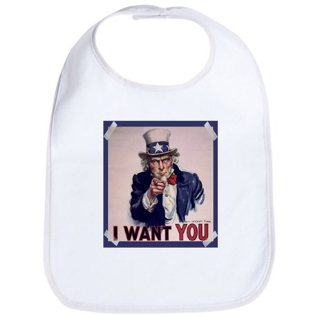 Uncle Sam Poster Bib