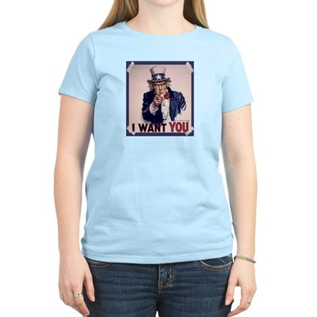 Uncle Sam Poster Women's Light T-Shirt