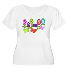 spring eggs Plus Size T-Shirt