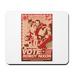 all hail robot nixon Mousepad