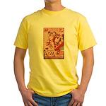 all hail robot nixon Yellow T-Shirt