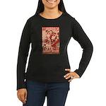 all hail robot nixon Women's Long Sleeve Dark T-Sh