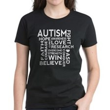 Autism World Cloud ASD T-Shirt
