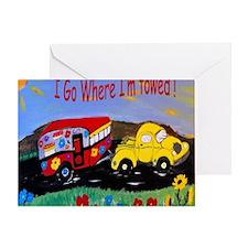 Camper Trailer  Greeting Card