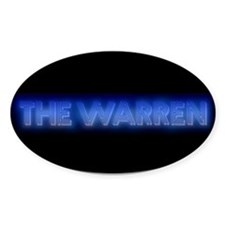 The Warren - Oval Decal
