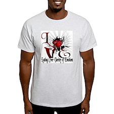 Ray of hearts T-Shirt