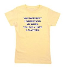 physics joke Girl's Tee