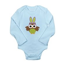 Easter bunny owl Body Suit