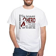 Bravest Hero I Knew Amyloidosis Shirt