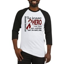 Bravest Hero I Knew Amyloidosis Baseball Jersey