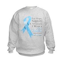 Addisons Disease Support Hope Awareness Sweatshirt