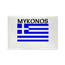 Mykonos, Greece Rectangle Magnet (10 pack)